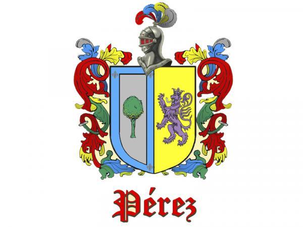 Significado y origen del apellido Pérez - Significado del apellido Pérez y escudo