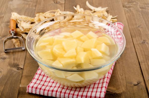 Cómo conservar patatas peladas - Cómo conservar patatas peladas crudas
