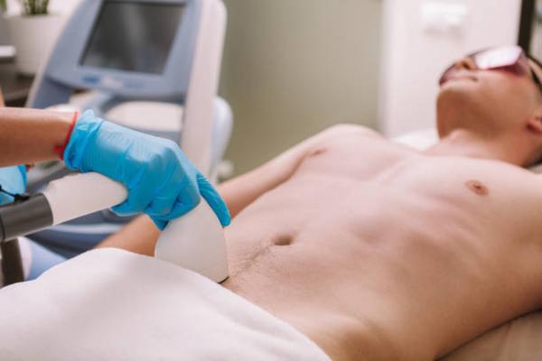 Cómo depilarse el pene - Depilación láser