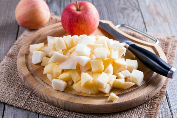 Cómo hacer mermelada de manzana sin azúcar - Paso 3