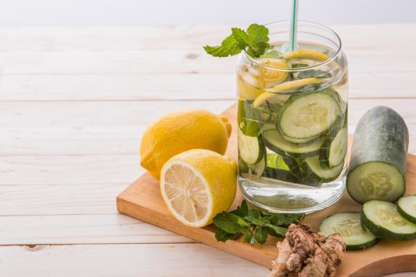 Jugo de pepino y limón para adelgazar - muy efectivo - Beneficios del jugo de pepino y limón para adelgazar