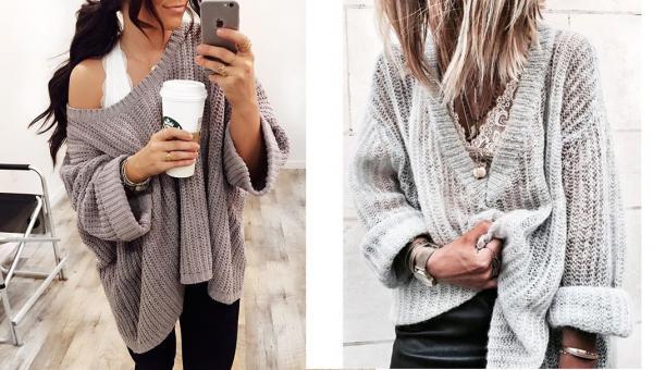 Cómo usar y combinar un bralette - los mejores outfits - Bralette con jerseys en V
