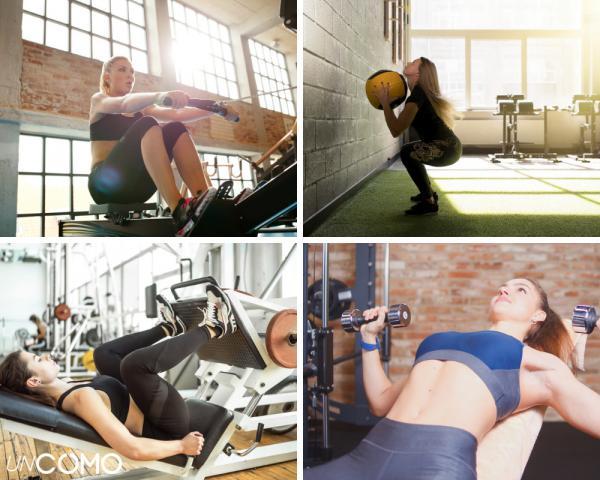 Cómo aumentar la masa muscular en mujeres - Tabla de ejercicios para ganar masa muscular en mujeres