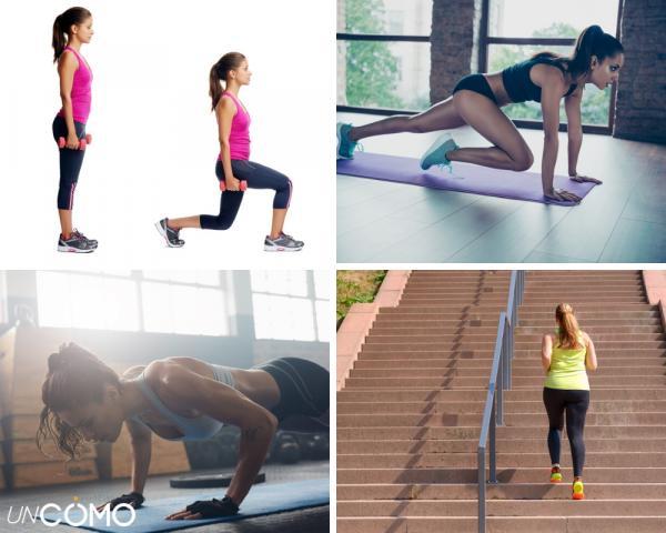 Cómo aumentar la masa muscular en mujeres - Más ejercicios para aumentar masa muscular en mujeres - ¡en casa!