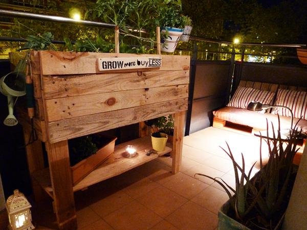 Cómo hacer un huerto urbano casero - las mejores ideas - Huertos urbanos con pallets