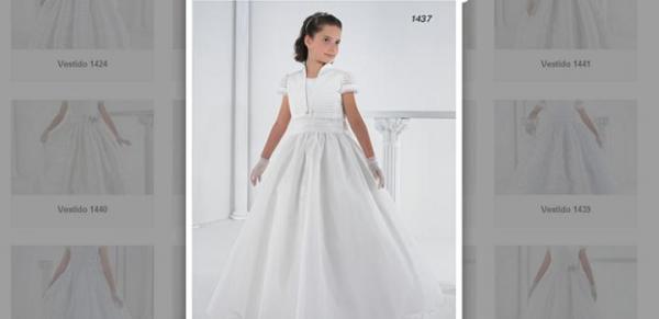 Vestidos de Primera Comunión baratos - Catálogo Carmy con vestidos de comunión
