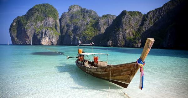 Dónde está la playa de la película La Playa - La playa Maya Bay