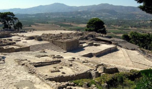 Los mejores monumentos arqueológicos de Grecia - Phaistos en Creta