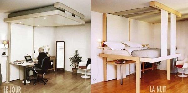 Camas prácticas para dormitorios pequeños - Camas Bed-up