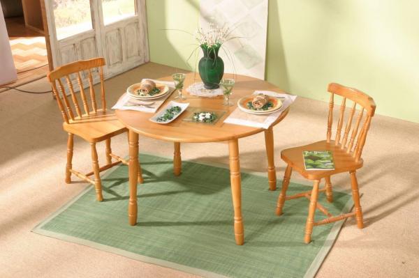 Ideas increíbles para mesas redondas en salones - Grandes ventajas de las mesas redondas