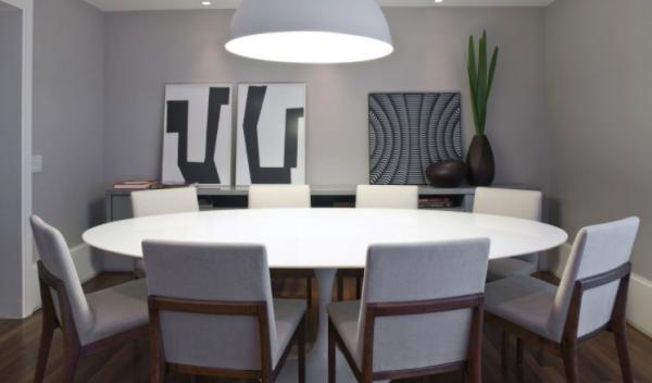 Ideas increíbles para mesas redondas en salones - Mesas redondas de comedor