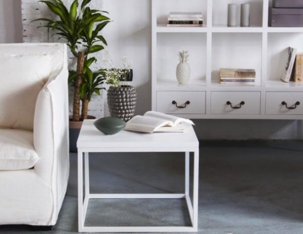 Ideas increíbles para mesas redondas en salones - Mesas auxiliares