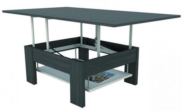 Mesas plegables para el comedor de diseño - ideas y fotos - Mesa plegable para salón y comedor