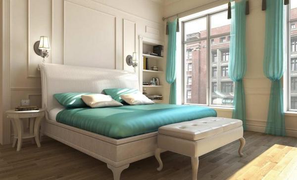 Cómo combinar el color azul turquesa en decoración - El color azul turquesa en las paredes de tu hogar