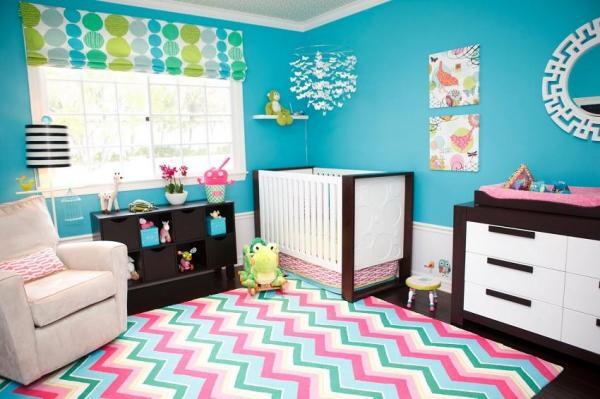 Cómo combinar el color azul turquesa en decoración -  El color turquesa en los muebles