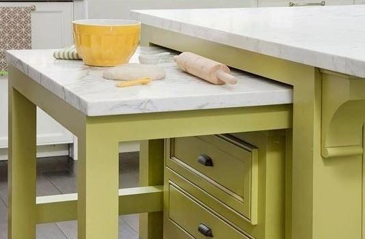 Ingeniosos muebles para ahorrar espacio - La mesa-tabla