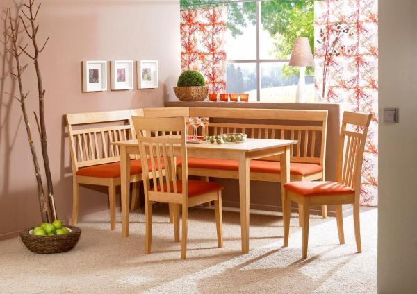 Ingeniosos muebles para ahorrar espacio - Sofá rinconero para veladas especiales