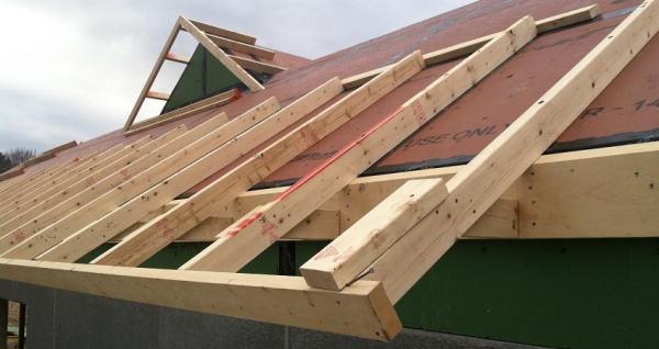 Tipos de techos para terrazas - distintos modelos con fotos - Techos para terrazas hechos de fibra de madera