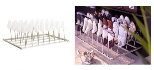 Organizadores de ropa y calzado - ideas y modelos prácticos - Organizadores de zapatos prácticos