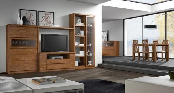 Cómo colocar correctamente la televisión en el salón - ideas y consejos - Colocar el televisor según la ubicación de los muebles del salón