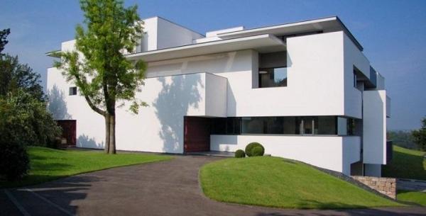 Cómo escoger los colores para pintar la fachada de una casa - Pintar la fachada de una casa con colores neutros