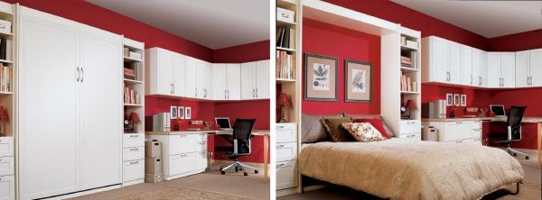 Tipos de camas - descubre los diferentes tipos - Para ahorrar espacio: camas murfy, camas nido o con cajones