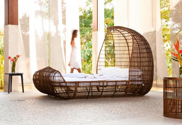 Tipos de camas - descubre los diferentes tipos - Para sentirse en plena naturaleza mientras dormimos