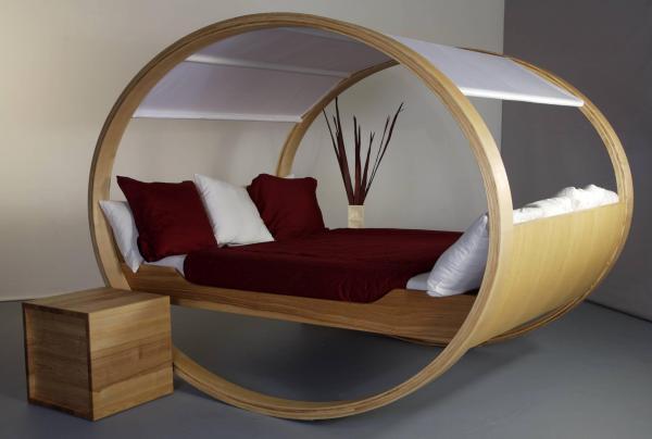 Tipos de camas - descubre los diferentes tipos - Rocking bed, estructura innovadora