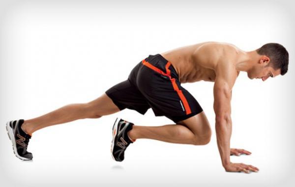 Los 6 ejercicios más completos para todo el cuerpo - Mountain climber, ejercicio para todo el cuerpo
