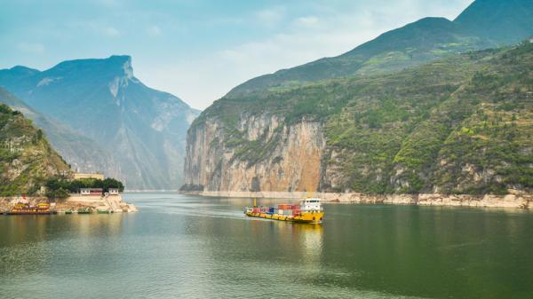 Principales ríos de Asia con mapa - Río Yangtsé