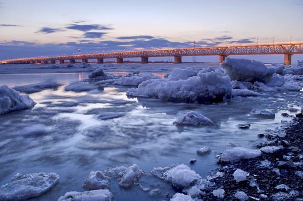 Principales ríos de Asia con mapa - Río Amur