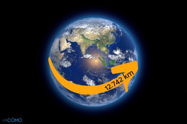 Cuánto mide el diámetro de la Tierra