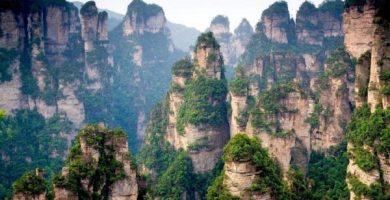 Las montañas de Tianzi en China son 'Pandora' de la película 'Avatar'