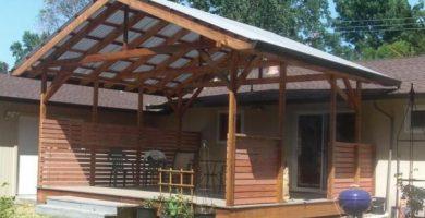 Tipos de techos para terrazas - distintos modelos con fotos