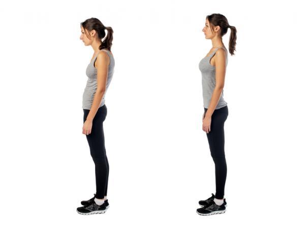 Cómo mejorar la postura de la espalda - Paso 2