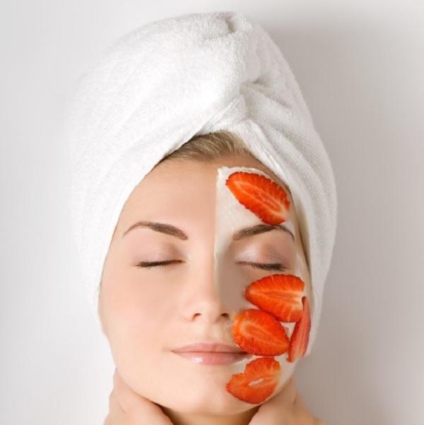 Cómo aclarar la piel con fresas - Mascarilla facial de fresas para aclarar la piel