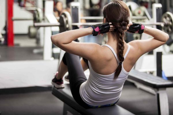 Ejercicios para perder barriga en casa - Abdominales para adelgazar la barriga