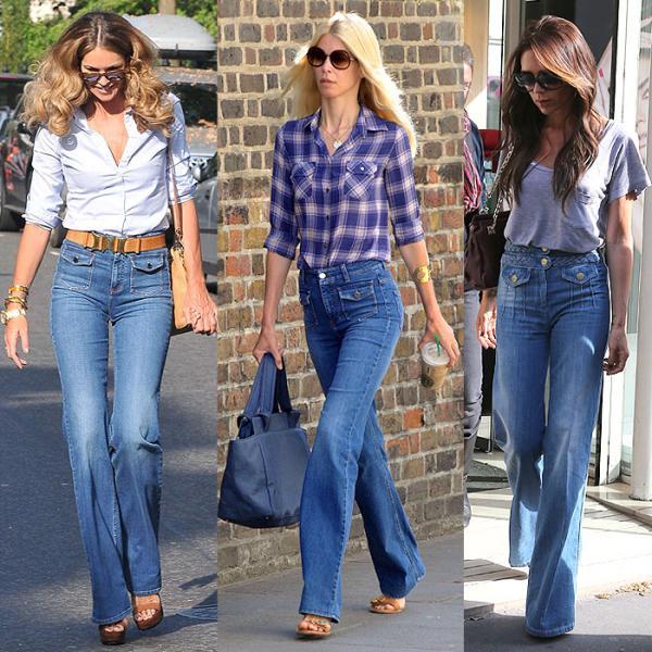 Cómo combinar un pantalón de talle alto - Jeans de talle alto