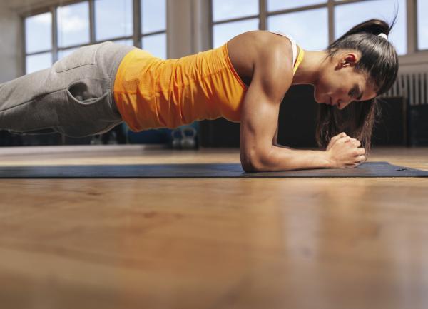 Rutina de ejercicios para principiantes en casa - Rutina de ejercicios de fuerza: Miércoles