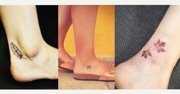 Tatuajes para mujeres en el pie - con fotos - Tatuajes para mujeres en el tobillo