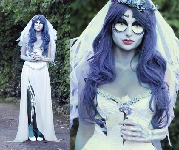 Los mejores disfraces de zombies para Halloween - Disfraces de novia cadáver