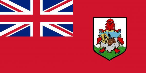 Dónde están las islas Bermudas - con mapa - Bandera de las islas Bermudas