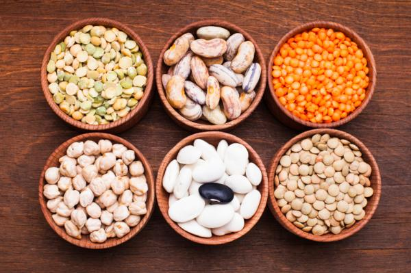 Alimentos bajos en colesterol - Legumbres