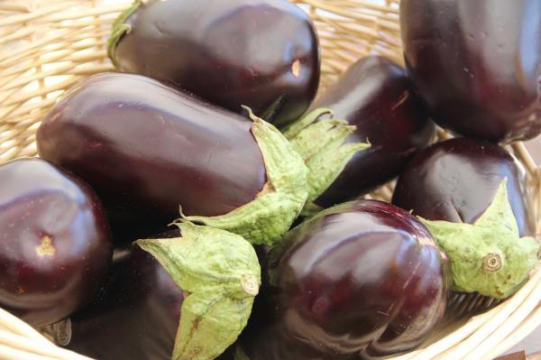 Alimentos bajos en colesterol - Berenjena