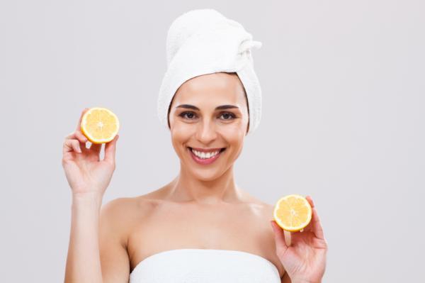 Cómo limpiar la cara con limón - Paso 3