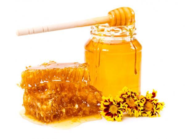Mascarillas para las manos arrugadas - Mascarilla de miel y aceite de oliva para hidratar