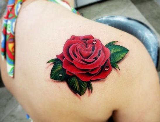 Significado de los tatuajes de rosas - Paso 1