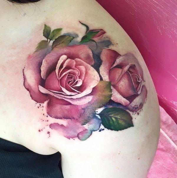 Significado de los tatuajes de rosas - Paso 4