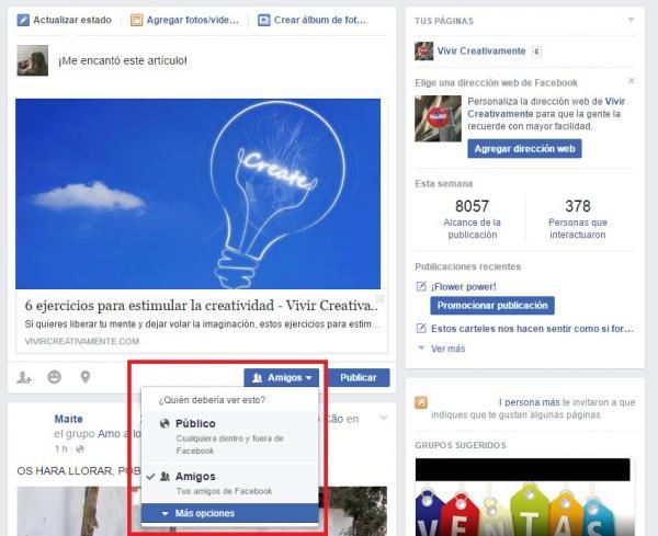 Cómo entrar a Facebook sin que se den cuenta - Paso 5