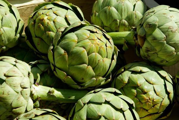 Alimentos para tener un vientre plano - Alcachofas para adelgazar